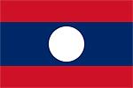 ラオス国旗マーク